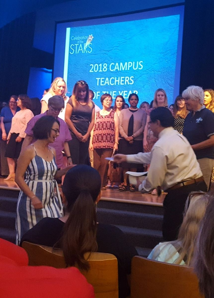 2018 Campus Teachers of the Year