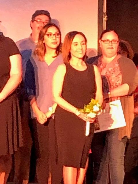 Ms Bejarano and Othe Teachers at the TUSD Elementary School Teacher of the Year Event